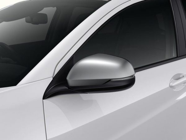Genuine Honda HR-V Door Mirror Covers (Matte Silver) 2015 Onwards