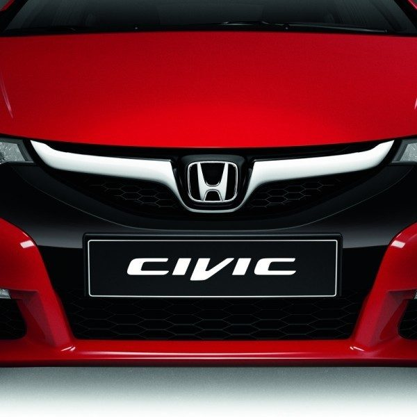 Genuine Honda Civic 5 Door Front Sports Grille 2012-2016