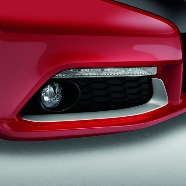 Genuine Honda Civic 5 Door Fog Light Opening Garnishes 2012-2016