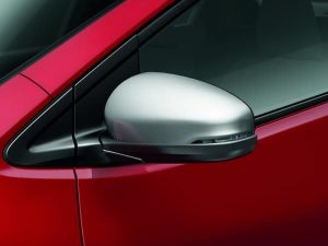 Genuine Honda Civic Silver Door Mirror Covers 2012-2016