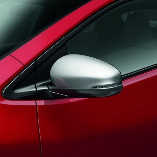 Genuine Honda Civic Silver Door Mirror Covers 2012-2016