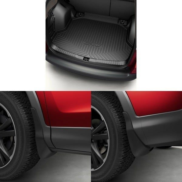 Genuine Honda CR-V 2013> Convenience Pack-Boot Liner + Mud Guards