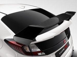 Genuine Honda Civic Type-R Carbon Fibre Black Tailgate Spoiler-2015>