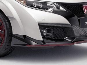 Genuine Honda Civic Type-R Carbon Fibre Fog Opening Decoration 2015-2016