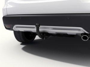 Genuine Honda HR-V 5 Dr Rear Skid Plate (Fixed Towbar) 2015 Onwards