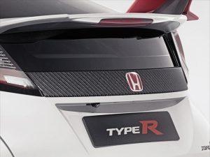 Genuine Honda Civic Type-R Carbon Fibre Tailgate Decoration
