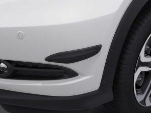 Genuine Honda HR-V 5 Dr Bumper Corner Moulding Set-Black-2015 Onwards