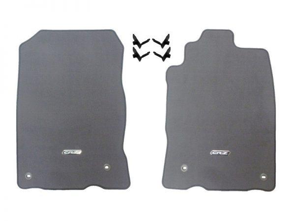Genuine Honda CR-Z Carpet Mats (Ash Grey) – Honda, Left-Hand Drive