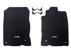 Genuine Honda CR-Z Carpet Mats (Graphite Black) – Honda, Left-Hand Drive