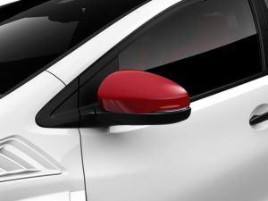 Genuine Honda Civic Type-R Rally Red Door Mirror Covers-2015>