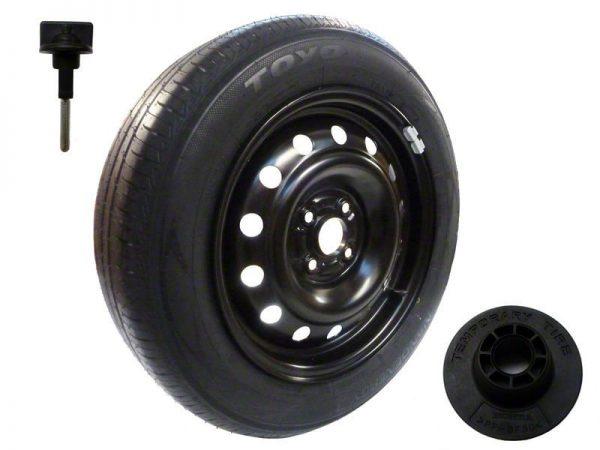 Genuine Honda Jazz Full Size Steel Spare Wheel & Tyre 2009-2015