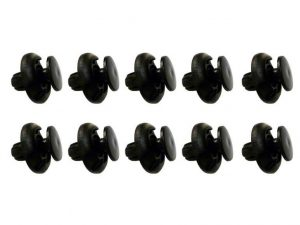 Honda Trim Panel Fixing Clips 8mm hole-Pack Of 10 Clips