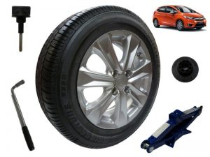 Genuine Honda Jazz Full Size Alloy Spare Wheel & Tyre + Draper Jack & Wrench-2016>