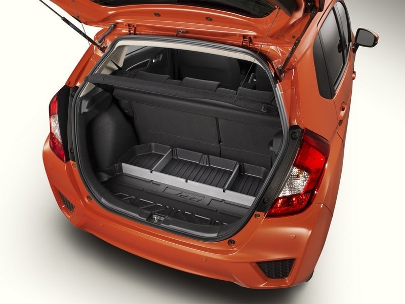 Genuine Honda Jazz Boot Liner / Trunk Tray With Dividers 2016 Onwards - 08U45T5A600 - Cox Motor ...
