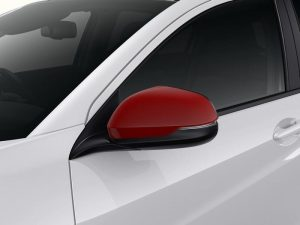 Genuine Honda HR-V 5 Dr Door Mirror Covers-Milano Red 2015>