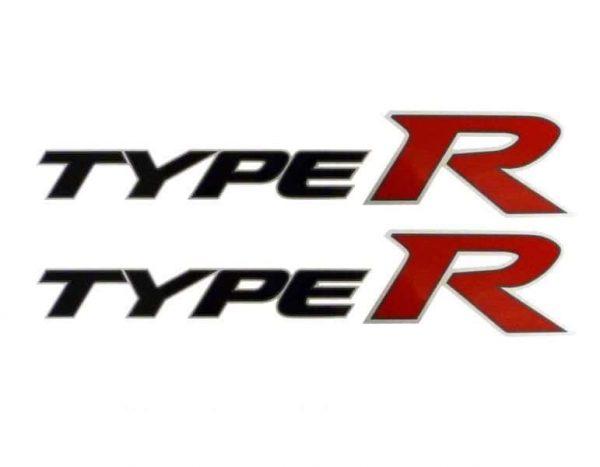 Genuine Honda Civic Type-R Side Decals 2007-2011