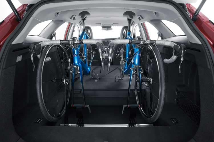 Genuine Honda Civic Tourer In car bicycle rack for 1