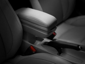 Genuine Honda CR-Z Front Armrest Console (Grey)