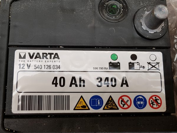 Genuine Honda Civic 1.4 Petrol Battery 2006-2011