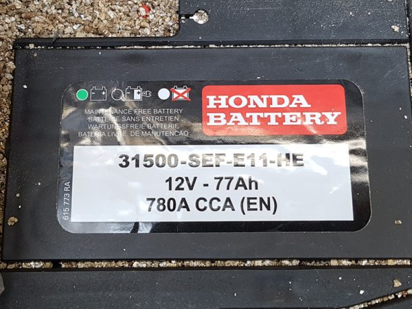 Genuine Honda Accord 2.2 Diesel Battery 2003-2008