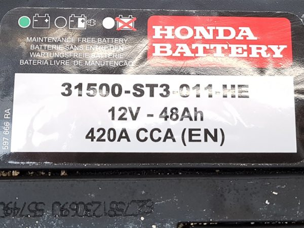 Genuine Honda Civic 5 Door Battery 1995-2000