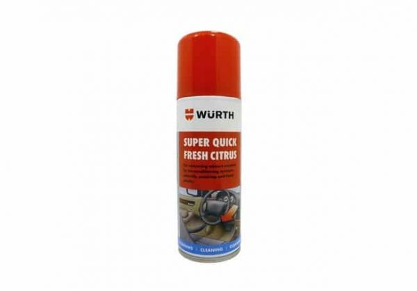 Wurth Super Quick Fresh Citrus Aircon Sanitizer 150ml