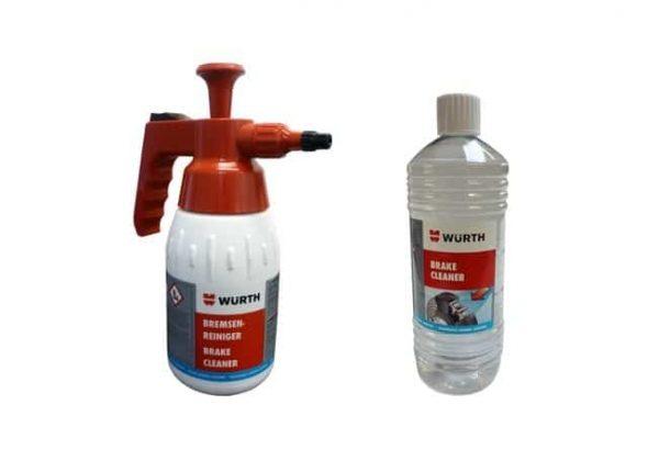 Wurth 1 Litre Brake Cleaner & 1 Litre Brake Cleaner Dispenser
