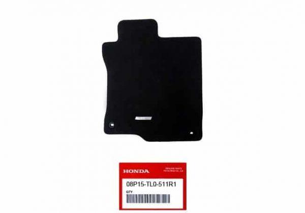 Genuine Honda Accord Drivers Carpet Mat 2009-2015 – Honda, Left-Hand Drive