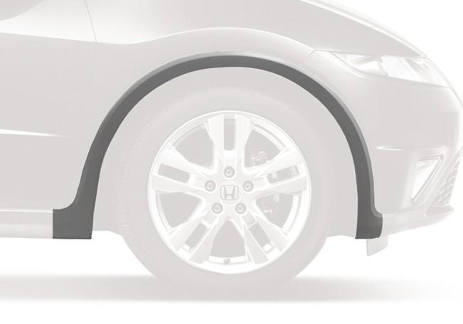 Genuine Honda Type S Right Front Grey Plastic Wheel Arch