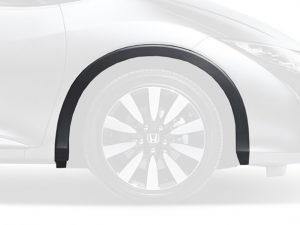 Genuine Honda Civic Tourer Right Front Grey Plastic Wheel Arch Protector 2014-2015