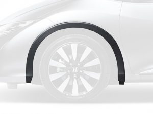 Genuine Honda Civic Tourer Left Front Grey Plastic Wheel Arch Protector 2014-2015
