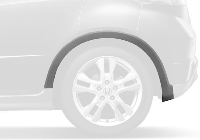 Genuine Honda Type S Left Rear Grey Plastic Wheel Arch