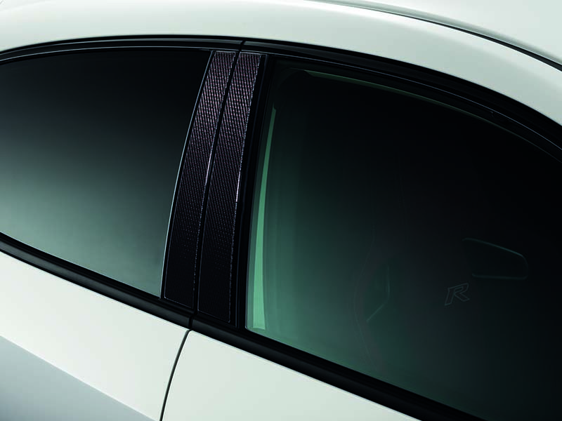 Genuine Honda Civic Type R Fk8 Carbon B Pillar Decorations