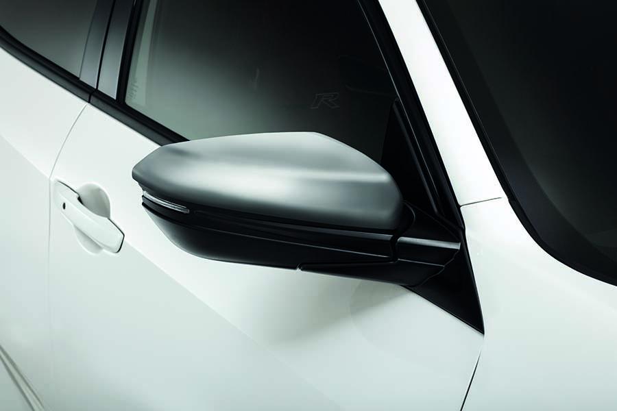 Genuine Honda Civic Type-R Silver Door Mirror Caps 2017> - 08R06TGL630 - Cox Motor Parts