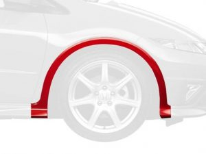 Genuine Honda Civic Type-R Right Front Wheel Arch Protector 2007-2011