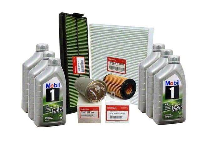 Genuine Honda Accord Diesel Major PLUS Service Kit 2003 ...