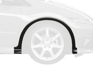 Genuine Honda Civic Type-R Right Front Wheel Arch Protector 2007-2011 – Crystal Black Pearl NH731P, Honda