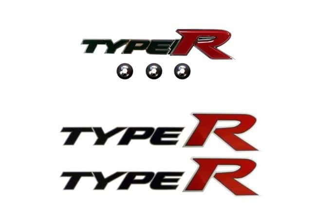 Genuine Honda Civic Front Type R Badge And Side Decals