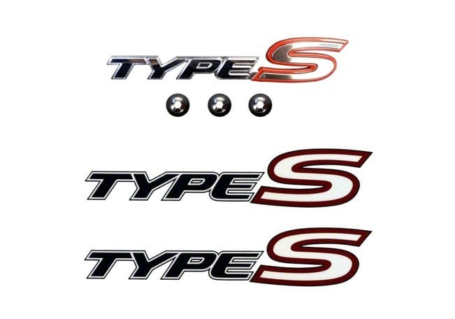 Genuine Honda Civic Front Type S Badge And Side Decals