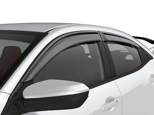 Genuine Honda Civic Type-R Wind Deflectors/Window Visors 2017>