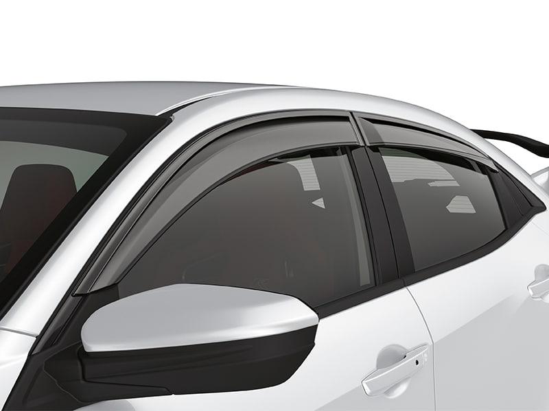 Honda Cr X >> Genuine Honda Civic 5 Door Wind Deflectors/Window Visors 2017> - 08R04TGH000 - Cox Motor Parts