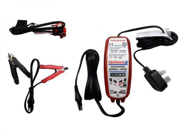 Genuine Honda Optimate 3 Battery Optimiser / Charger