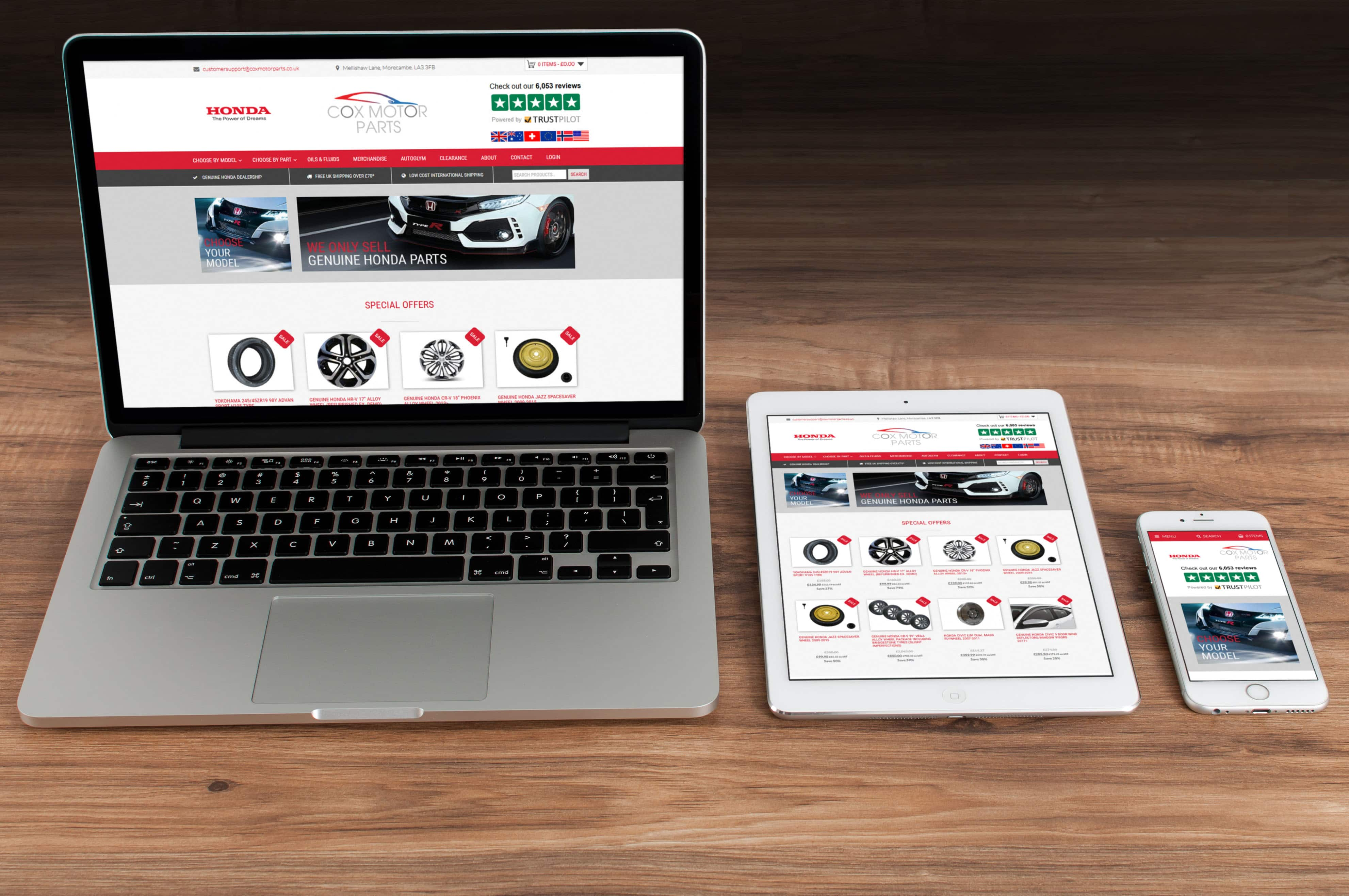 New Cox Motor Parts Website Goes Live