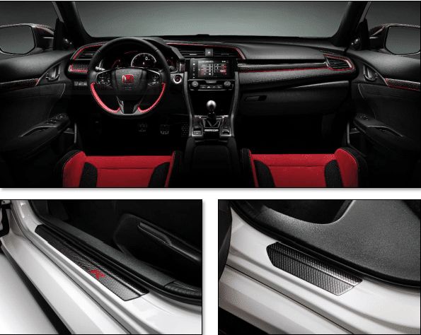 Nsx R For Sale >> Genuine Honda Civic Type-R FK8 Carbon Interior Pack 2017 Onwards - 08E0PTEACBINR - Cox Motor Parts