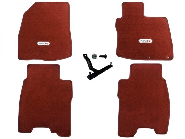 Genuine Honda Civic Type-R FN2 Premium Carpet Mats 2007 Only – Honda, Left-Hand Drive