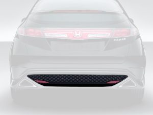 Genuine Honda Civic Type-R FN2 Rear Bumper Grille/Mesh 2007-2011