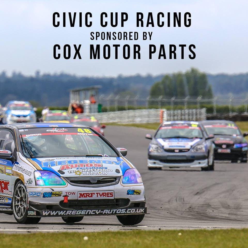 Cox Motor Parts Sponsors Civic Cup Racing