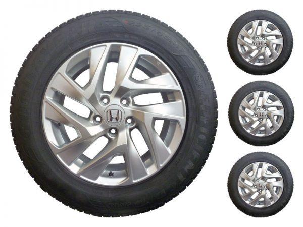 Genuine Honda CR-V 17″ Alloy Wheels with Tyres – Set of 4 – Ex Display-2013-2018