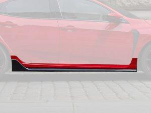 Genuine Honda Civic Type-R FK8 Right Hand Side Skirt (Pre-Painted) 2017 Onwards