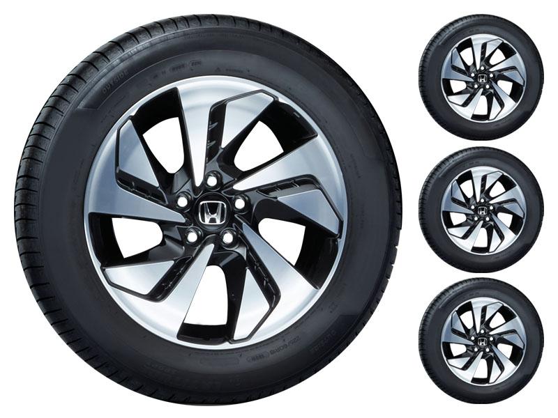 "Genuine Honda CR-V 18"" Alloy Wheels with Tyres - Set of 4 - Ex Display-2013-2018 ..."